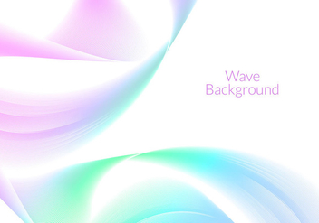 Free Vector Wave Background - Free vector #274211