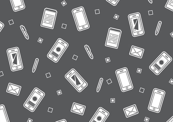 Free Iphone 6 Pattern #3 - vector gratuit #274351