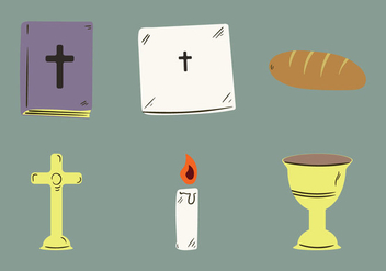 Free Church Altar Vector Illustration - Free vector #274401