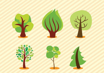 Vector Trees - Free vector #274451