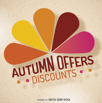 Autumn Sale logo - vector gratuit #274521