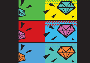 Free Simple Pop Art Facebook Cover - Free vector #274711