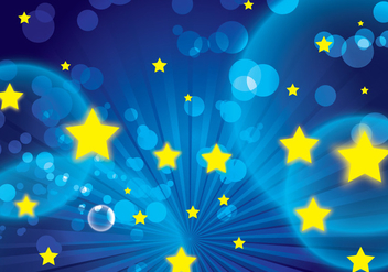 Star Background Vector - vector #274741 gratis