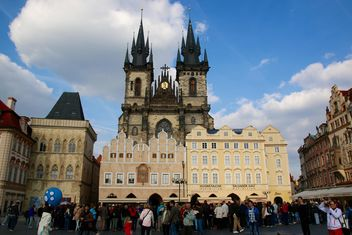Old town square in Prague - Kostenloses image #274771