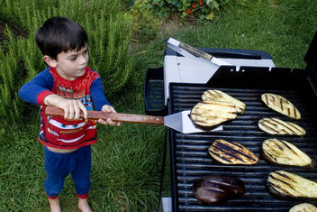 natural born griller (kid chef) - image gratuit #278731
