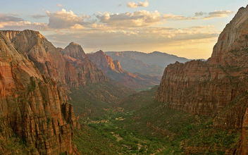Zion Canyon - Angels Landing, Utah - бесплатный image #279991