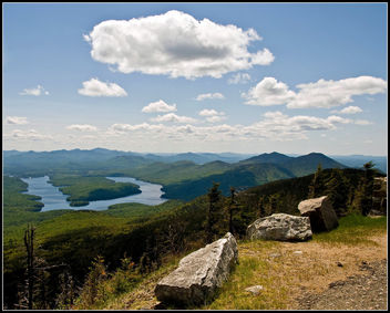 Whiteface 6: View of Lake Placid - бесплатный image #280001
