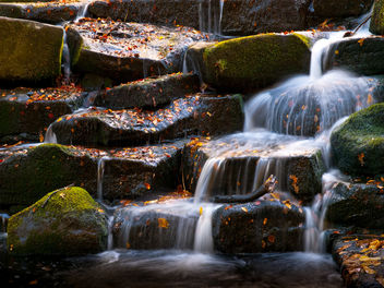 Waterfall at Virginia Water - Free image #280611