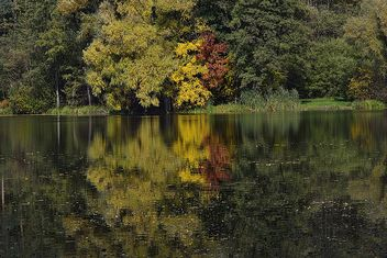Autumn lake - image #280941 gratis