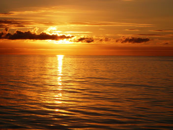 Beautiful-Ocean-Sunset - image gratuit #284501