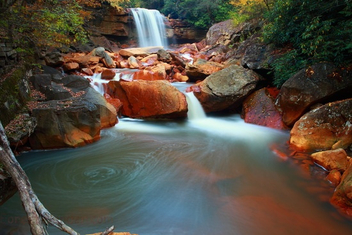long-exposure-autumn-waterfalls - image gratuit #284631