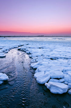 Frozen Lagoon Sunset - бесплатный image #285971