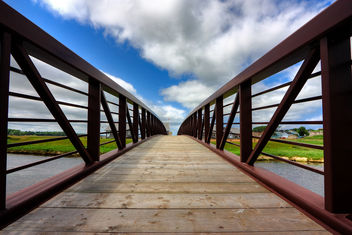 PEI Country Bridge - HDR - Free image #286751