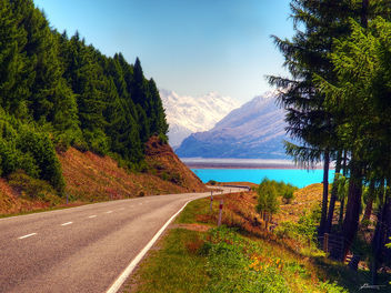 lake pukaki and mt cook - image gratuit #287381