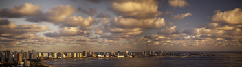 Punta del Este Panorama - Skyline and Clouds | 130327--jikatu - Free image #288021