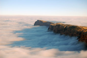 Grand Canyon National Park Cloud Inversion from Desert View: November 29, 2013 photo 0812 - image gratuit #290331