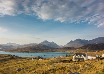 Ardhasaig with Clisham, Isle of Harris - бесплатный image #291381