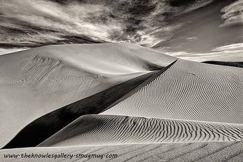 Sand Dunes late afternoon - Free image #291601