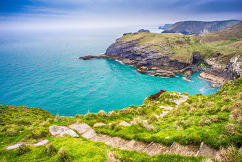 Tintagel Castle, Cornwall, United Kingdom - бесплатный image #291701