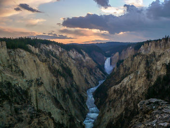 Yellowstone Canyon - Free image #293071