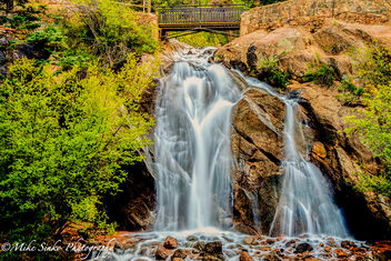 Helen Hunt Falls in Cheyenne Mountain. Colorado Springs, CO - Free image #293591