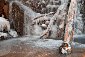 Frozen Avalon Falls - HDR - бесплатный image #295971