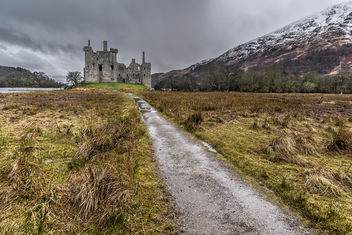 Kilchurn castle, Lochawe, Scotland, United Kingdom - бесплатный image #296871