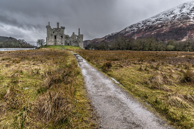 Kilchurn castle, Lochawe, Scotland, United Kingdom - Free image #296871
