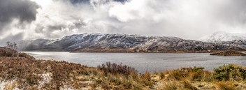 Loch Cluanie, Highlands, Scotland, United Kingdom - Landscape photography - Free image #297041