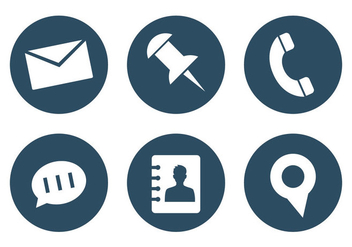 Vector Set of Office Icons - vector gratuit #297671