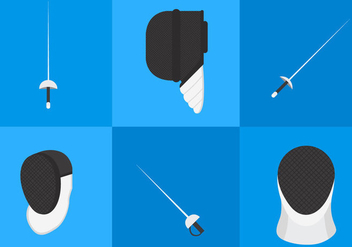 Fencing Equipment Vectors - vector #297781 gratis