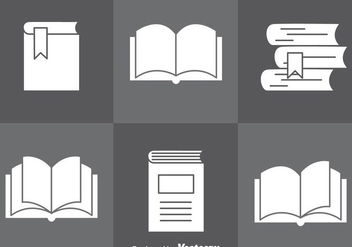 Read More On Gray Icons - vector gratuit #297921