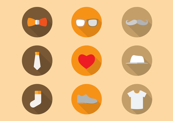 Free Father Icons Vector - vector gratuit #298031