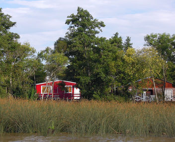 Argentina (Tigre Delta)- Red Houses - image gratuit #299671