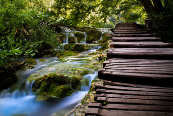 Waterfall in Plitvice - Free image #301021