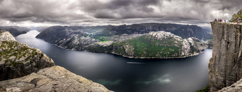 Lysefjord - Norway - Landscape, travel photography - Kostenloses image #301131