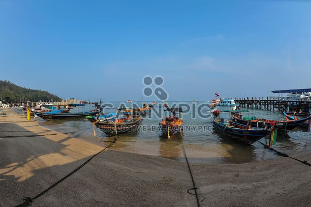 Boats on Koh tao shore - Free image #301571
