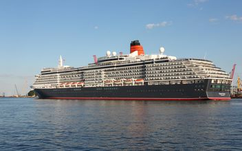 large beautiful cruise ship at sea - Kostenloses image #301601