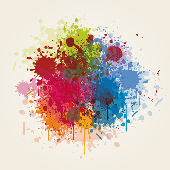 Painted Summer Fest Background - Free vector #301891