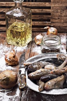 Products for cooking of fish - image gratuit #302091