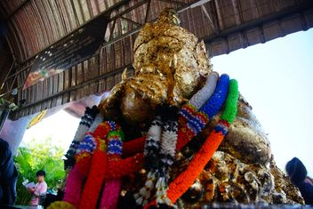 Black Goddess Giant in Wat Saman - Free image #302381