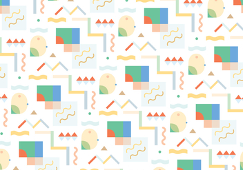 Fun Abstract Pattern Vector - vector gratuit #302431