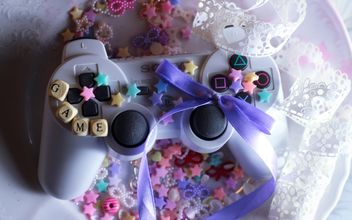 Decorated joystick - image #302571 gratis