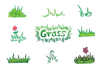 Free Grass Vector Series - Kostenloses vector #302611