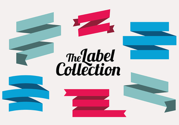Free Labels Vector Collection - vector gratuit #302721
