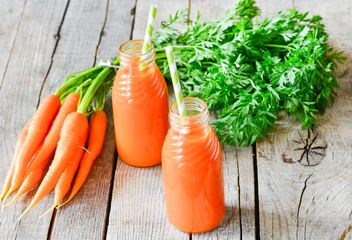 Carrots and carrots juice - бесплатный image #302901