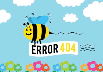 404 Vector Background - Free vector #303471