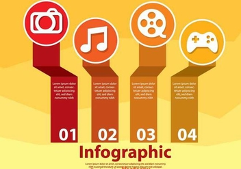 Hobby Infography - Kostenloses vector #303651