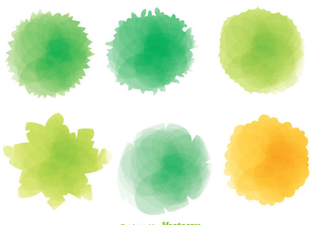 Colorful Plant Top View - Kostenloses vector #303911