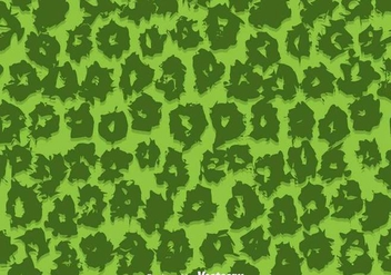 Green Leopard Pattern Vector - бесплатный vector #304281